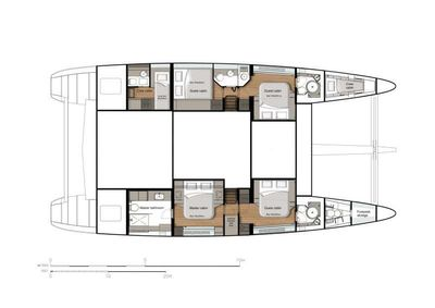 Yacht Charter ANNETTE2 Layout