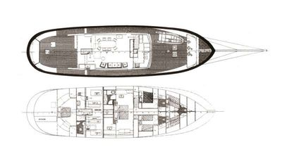 Yacht Charter BLUE DREAM Layout
