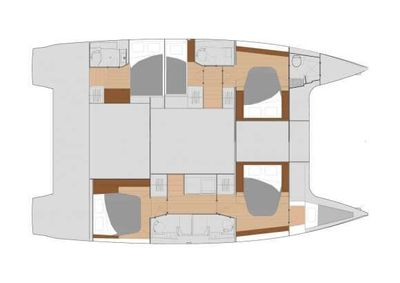 Yacht Charter Tranquilo Layout