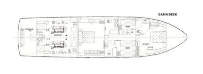 Yacht Charter LADY KATHRYN Layout