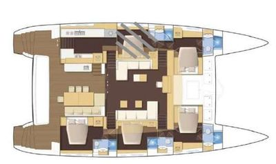 Yacht Charter MOOSE OF POOLE Layout