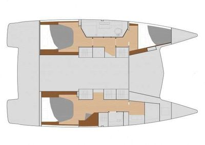 Yacht Charter 3 SISTERS Layout