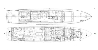 Yacht Charter Tempest WS Layout