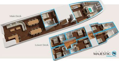Yacht Charter Grand Majestic Layout