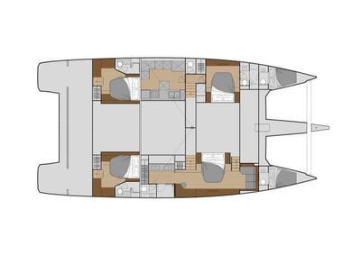 Yacht Charter Number One Layout