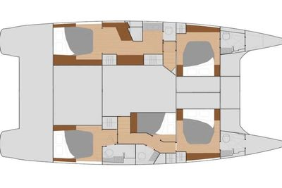 Yacht Charter WINTER'S COMING Layout