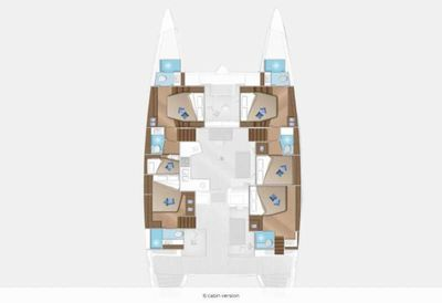 Yacht Charter SUMMER STAR Layout
