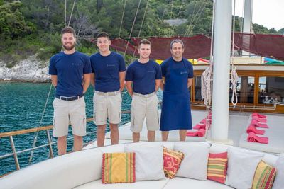 Yacht Charter Altair Crew