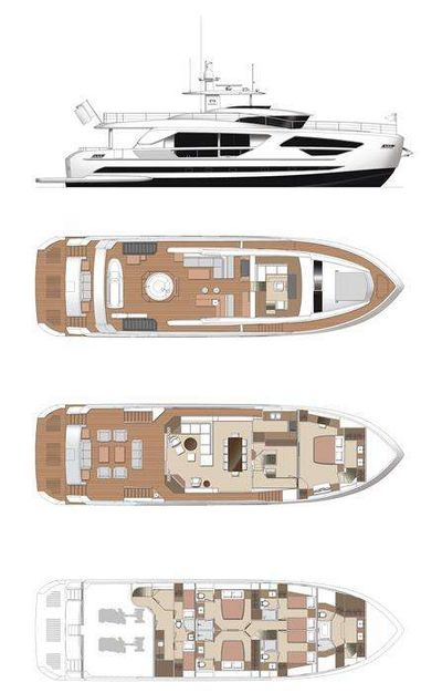 Yacht Charter ANGELEYES Layout