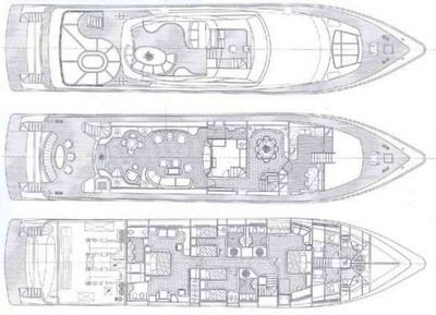 Yacht Charter SUGAR Layout