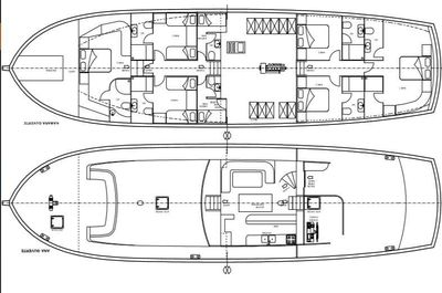 Yacht Charter KORAY EGE Layout