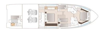 Yacht Charter NEVER SAY NEVER AGAIN Layout