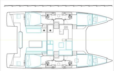 Yacht Charter ILLUSION Layout