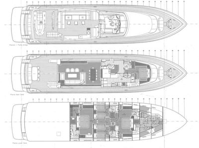 Yacht Charter DIVINE Layout