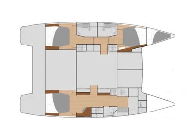 Yacht Charter EDDIES IN TIME Layout
