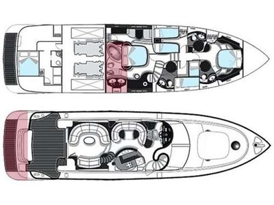 Yacht Charter CHILL OUT II Layout