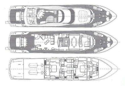Yacht Charter IF Layout