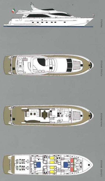 Yacht Charter STAR LINK Layout