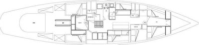 Yacht Charter WHEN AND IF Layout