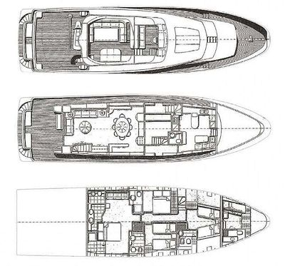 Yacht Charter WOLF TWO Layout