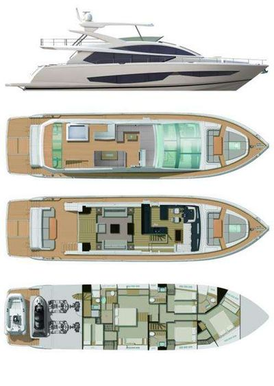Yacht Charter Pearl Layout