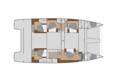 Yacht Charter ChristAl MiO Layout
