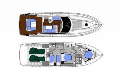 Yacht Charter Tequila Layout