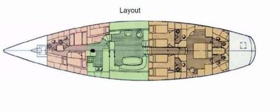 Yacht Charter SEA ANGEL III Layout