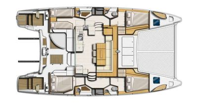Yacht Charter TRIDENT TIDES Layout