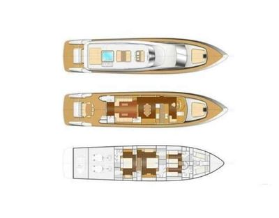 Yacht Charter AMER-ICA Layout