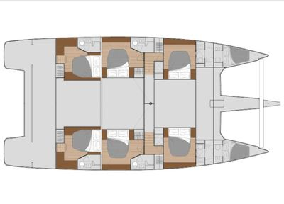 Yacht Charter MY TY Layout