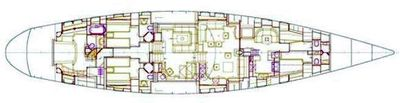 Yacht Charter Spiip Layout