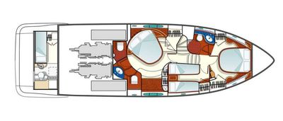 Yacht Charter COSMOS Layout