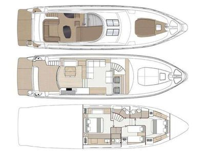Yacht Charter WAVE MASTER Layout