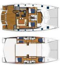 Yacht Charter TOUCH THE SKY Layout