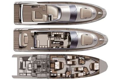 Yacht Charter WICKED Layout