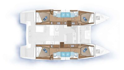 Yacht Charter RENDEZ-VOUS Layout