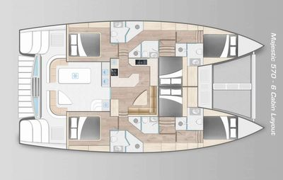 Yacht Charter GET ALONG Layout