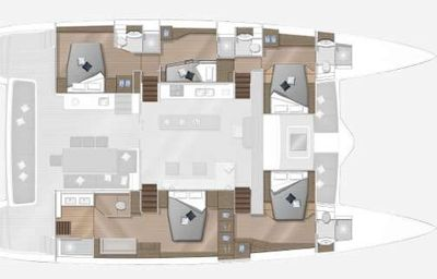 Yacht Charter COLETTE Layout