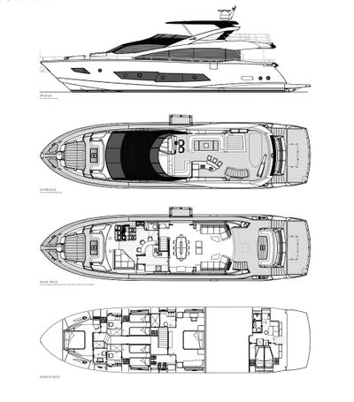 Yacht Charter INSOMNIA Layout