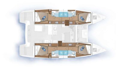 Yacht Charter MARCH DRAGON Layout