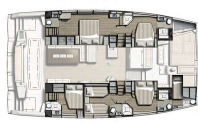 Yacht Charter Synergy Layout