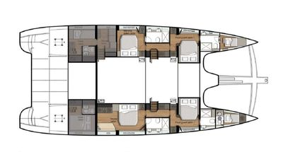 Yacht Charter ORION Layout