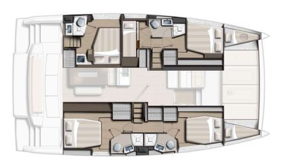 Yacht Charter WILD BUNCH Layout