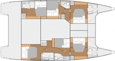 Yacht Charter Nowhere Layout
