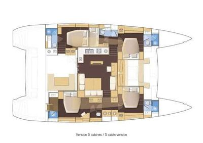 Yacht Charter Eagle of Norway Layout