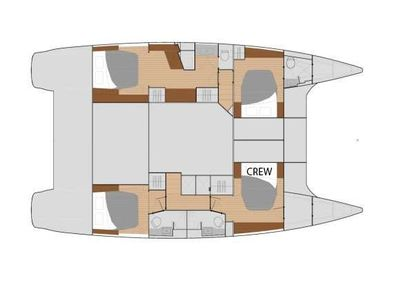 Yacht Charter OCEANFRONT PROPERTY Layout