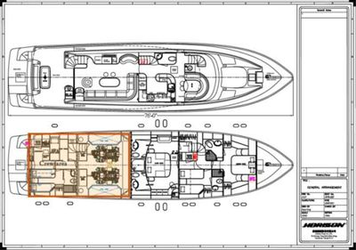 Yacht Charter ELLA CLARE Layout