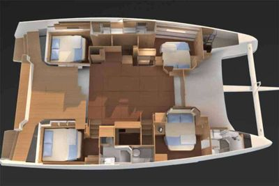 Yacht Charter CHICCO Layout