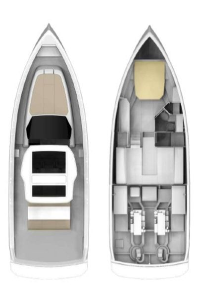 Yacht Charter BABY D Layout